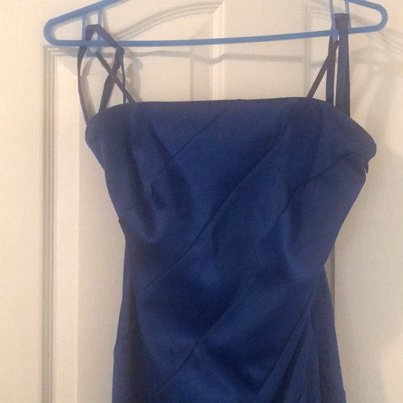 Evening dress - royal blue. Medium. Le Chateau